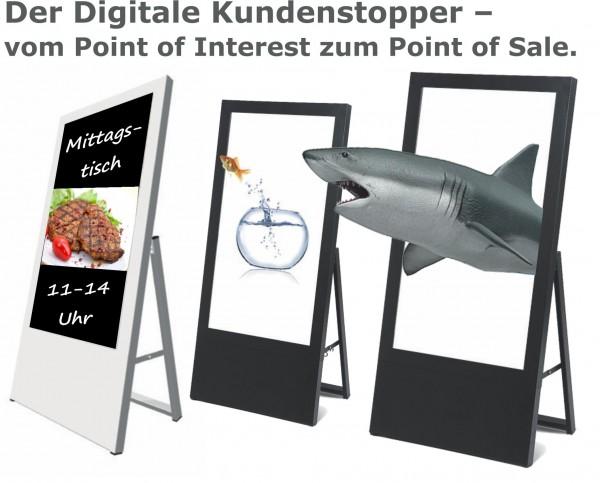 Digitaler Kundenstopper / Digital Signage von Samsung
