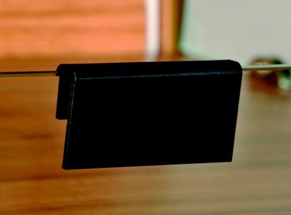 Tafelregalhalter 10mm ( 5 Stück )