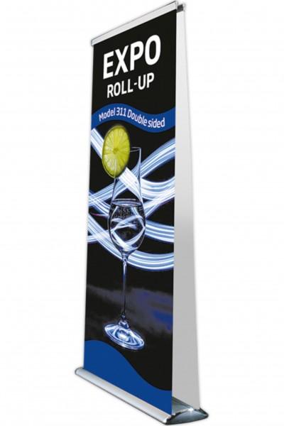 Roll-Up Bannerholder Doppelseitig