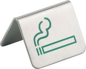 Tischaufsteller Raucher