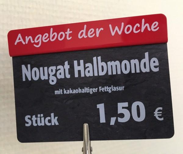 """Aktionsreiter für Preisschilder \""""TEXT NACH WAHL !!\"""" - 10 Stück"""