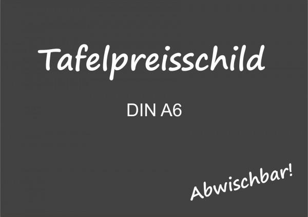 Tafelpreisschild DIN A6 ( 10 Stück )