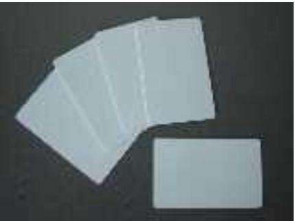 Blanko-Karten, weiß, 0.76 mm