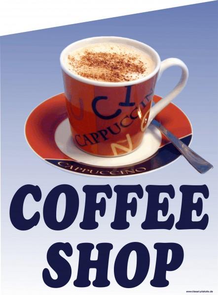 Fahne Coffee-Shop