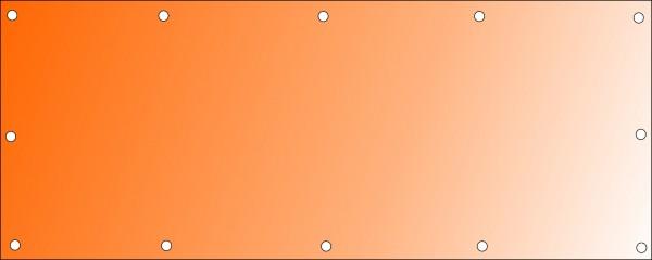 Bannerdruck 250 x 100 cm, PVC 510g