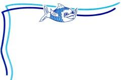 Fisch, DIN A7